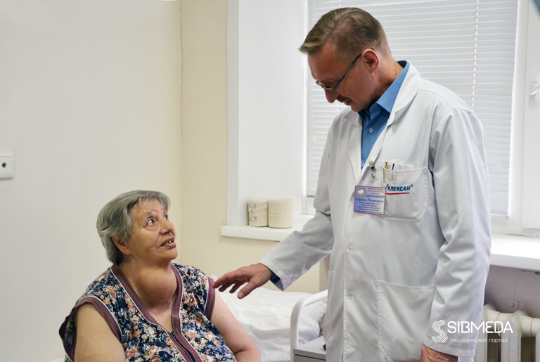 ВНовосибирске хирурги прооперировали огромную опухоль нашее пенсионерки